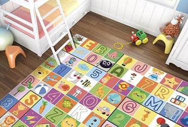 tappeti per camerette di bambini